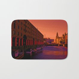 Albert Dock And the Pier Head Bath Mat