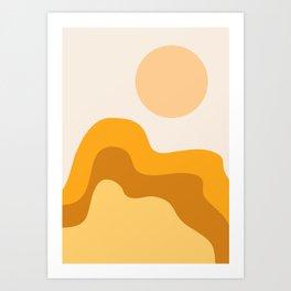 Sun Dunes 02 Art Print