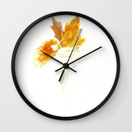 Autumn fairy Wall Clock