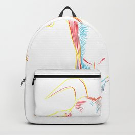 Colorful Goat Head Backpack