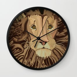 Andrew's Mane Story Wall Clock