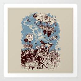 Distant Thunder Art Print