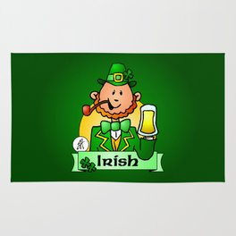 St. Patrick's Day Rug