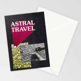 astral travel Stationery Cards