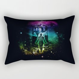 time traveller v2 Rectangular Pillow