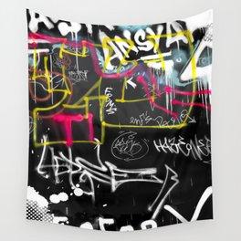 New York Traces - Urban Graffiti Wall Tapestry