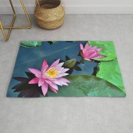 Lotus Blossoms Rug