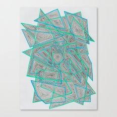 Criss-Cross Canvas Print
