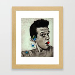 losing my marbles  Framed Art Print