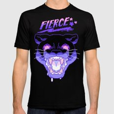 FIERCE Black LARGE Mens Fitted Tee