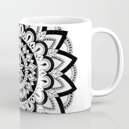 Higher Vibrations Mandala Coffee Mug