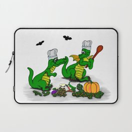 Dragons - Happy Halloween ! Today I will cook Laptop Sleeve