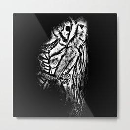 Blind Metal Print