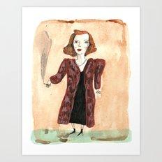 Betty Davis Art Print