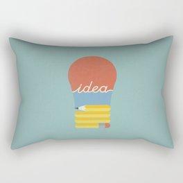 I've Got An Idea Rectangular Pillow