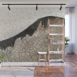 Edge of raku ceramic vase - Perfect imperfection! Wall Mural