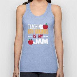 Teaching 6th Graders Is My Jam Cute Teacher T-Shirt Unisex Tank Top