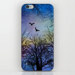Wisdom Of The Night - Colorful iPhone Skin