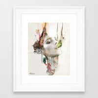 archan nair Framed Art Prints featuring Morning Chorus by Archan Nair