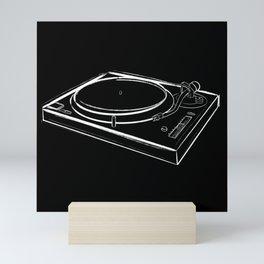 Turntable One Mini Art Print