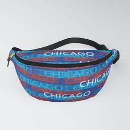 Chicago Moving Forward Fanny Pack