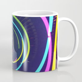 Abstract Light Tunnel Coffee Mug