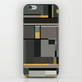 BAUHAUS ARTE iPhone Skin