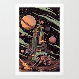 Where is home? Art Print