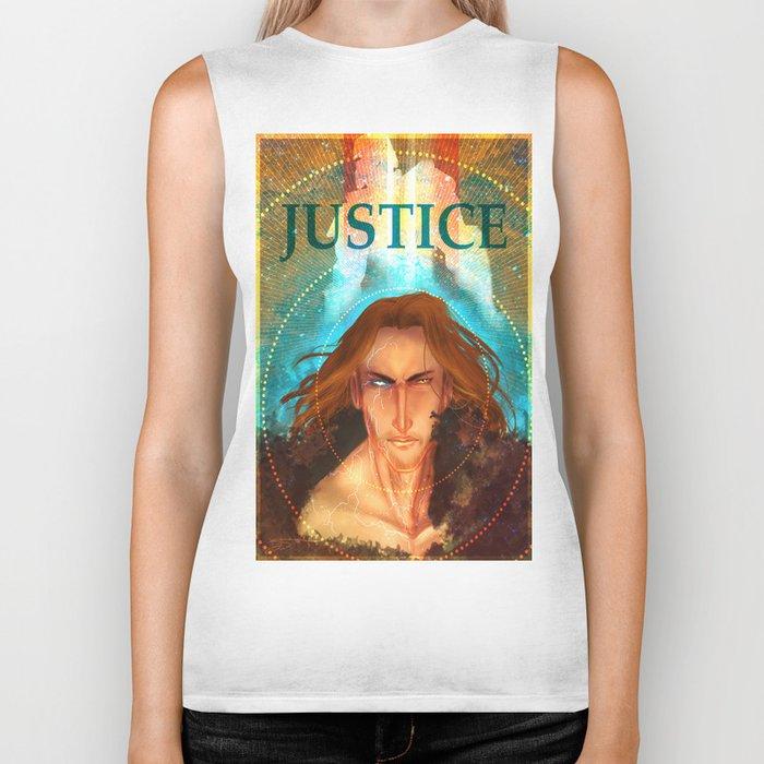 Torn Justice Biker Tank