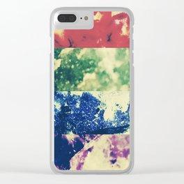 Crystalline Rainbow Clear iPhone Case