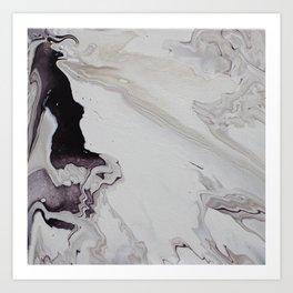 Marble Square Art Print