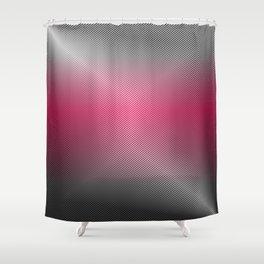 Metallic Hot pink Sheen Shower Curtain