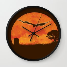 Doctor Who - A Crack in the Universe! Wall Clock