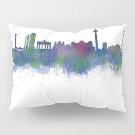 Berlin City Skyline HQ2 Pillow Sham