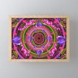 Flower Girl Whirlpool Framed Mini Art Print