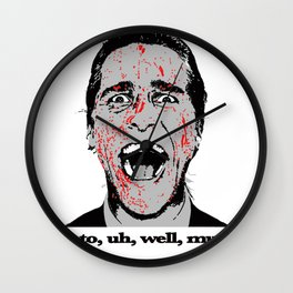 The Suit Wall Clock
