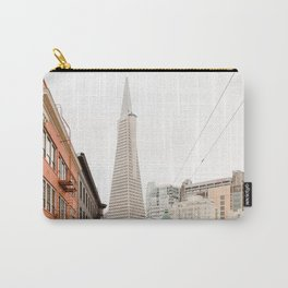 The Transamerica Pyramid San Francisco Carry-All Pouch