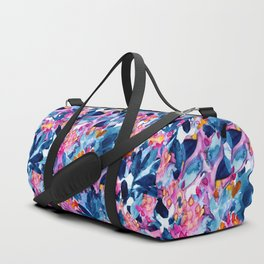 Flower garden watercolor Duffle Bag