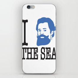 I __ The Sea iPhone Skin