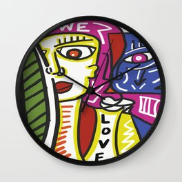 We Art Bham Wall Clock