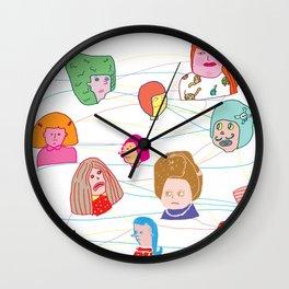 Network Effects Wall Clock