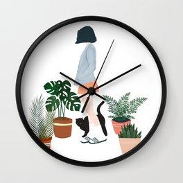love my life Wall Clock