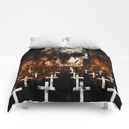 """Death Reigns"" Comforters"