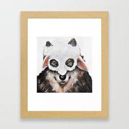 Wolf Fashionista Framed Art Print