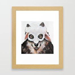 Wolf Fashionista Framed Art Print