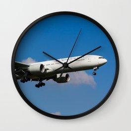 Air New Zealand Boeing 777 Wall Clock