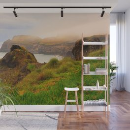 Coastal landscape in Azores Wall Mural