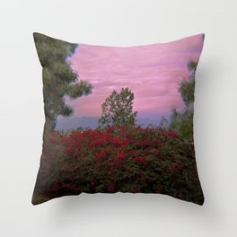 Inner City Views Throw Pillow