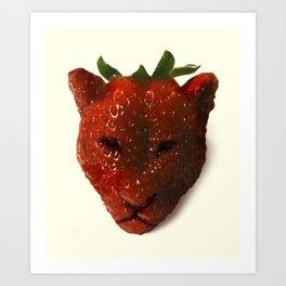 Strawrberry Art Print
