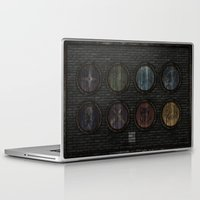 skyrim Laptop & iPad Skins featuring Shield's of Skyrim by VineDesign